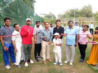 हरियाणा रणजी कोच विजय यादव ने किया डीपीएस स्कूल में द क्रिकेट गुरूकुल अकादमी का शुभारंभ