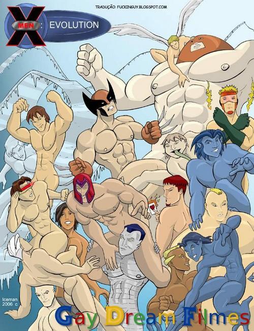 X-Men Evolution - Gay Quadrinhos