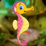 G4K Joyous Goodly Seahorse Escape