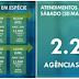Caixa abre 157 agências na Bahia neste sábado (30) para pagamento do auxílio emergencial