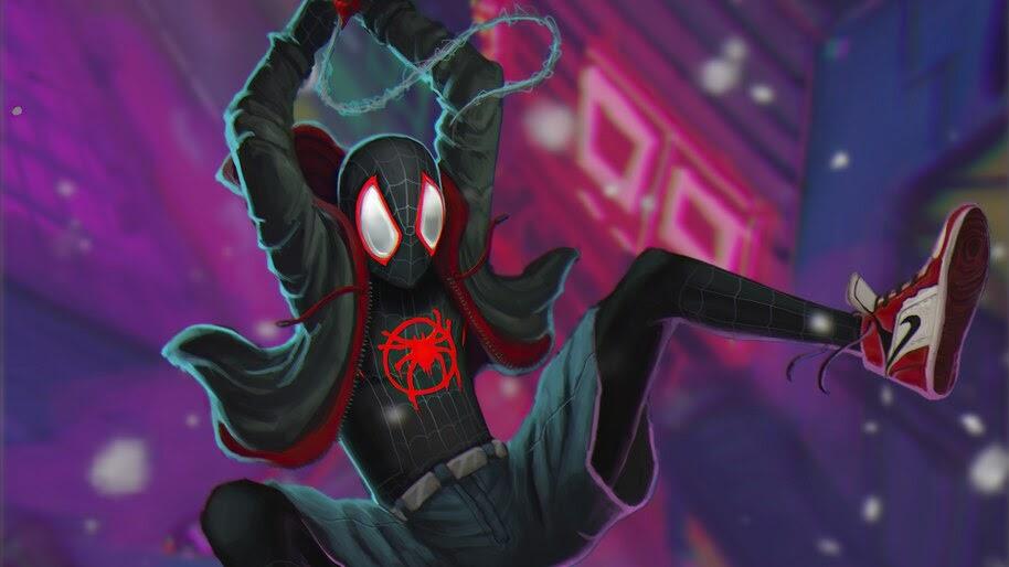 Miles Morales, Spider-Man, Into the Spider-Verse, 4K, #6.2556