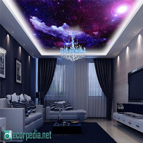 3d ceiling design, modern false ceiling ideas