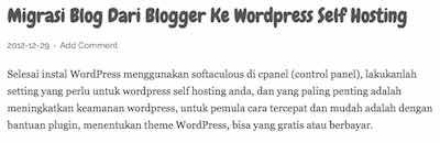 Cara Memindahkan Blog