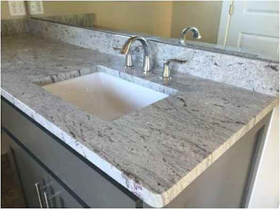 Solution Bathroom Stone Counter tops Ideas