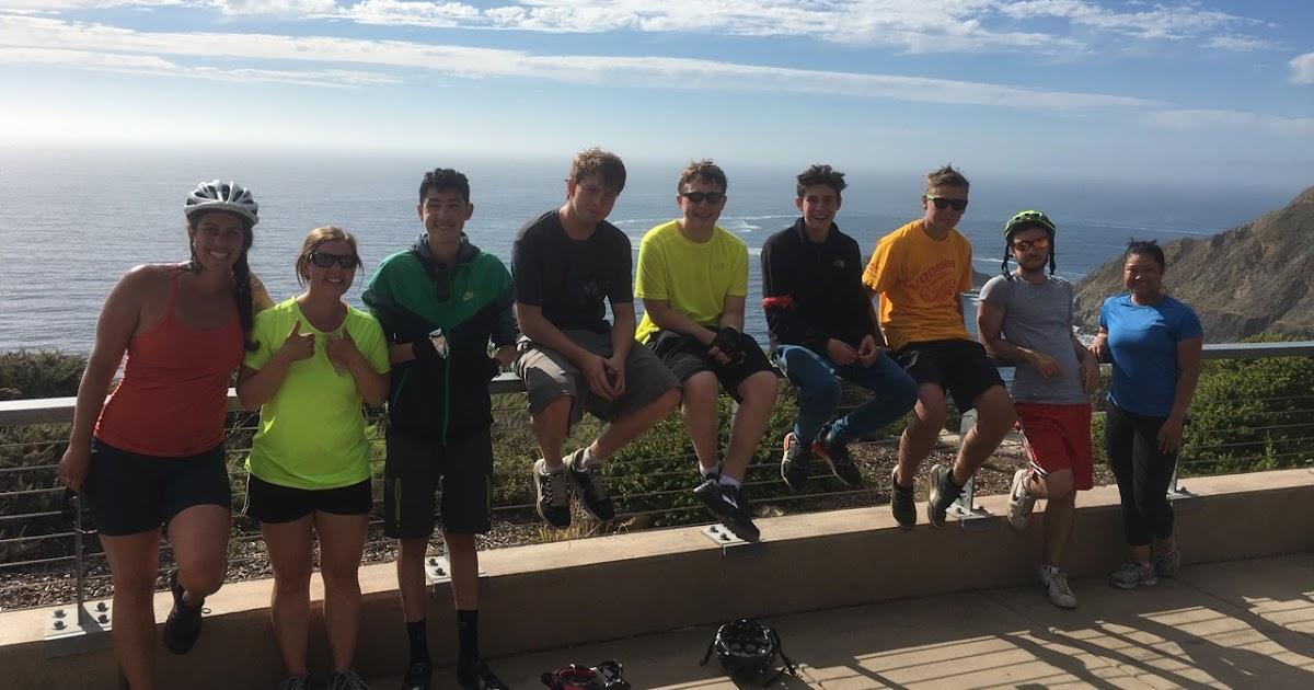 Teen Treks California Coast Trekkers In Awe Of The