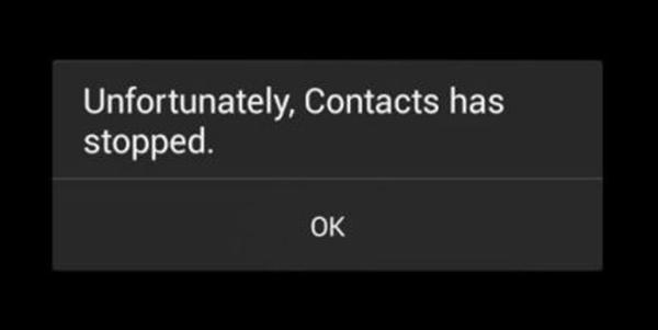 """Cara mengatasi """"sayangnya kontak telah berhenti"""""""