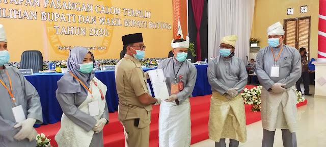Ketua Komisi II DPRD Natuna, Hadiri Rapat Terkait Sengketa Penguasaan Lahan dan Tapal Batas Sedanau Dengan Gunung Durian Kecamatan Bunguran Utara.