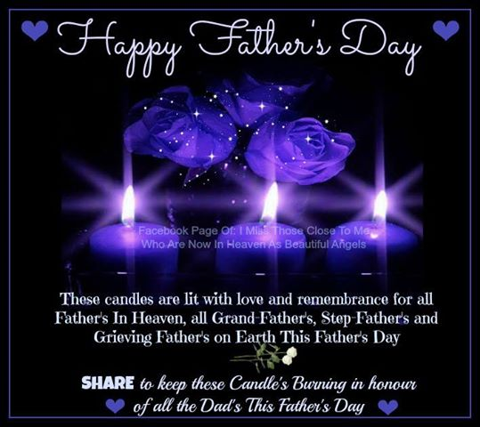 Happy Fathers Day in Heaven Messages