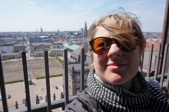 Kööpenhaminan parhaat näköalapaikat - Christiansborgin linnan torni