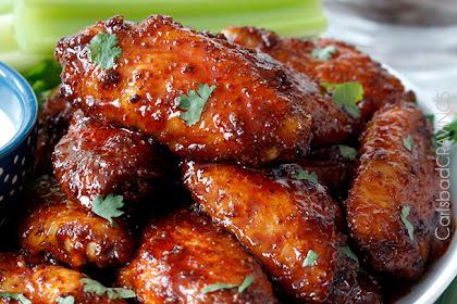 Buffalo Honey Hot Wings and Traditional Buffalo Hot Wings