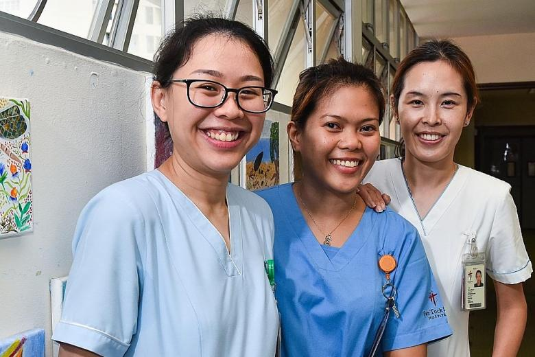 TTSH nurses get award for going beyond call of duty for patients in palliative care