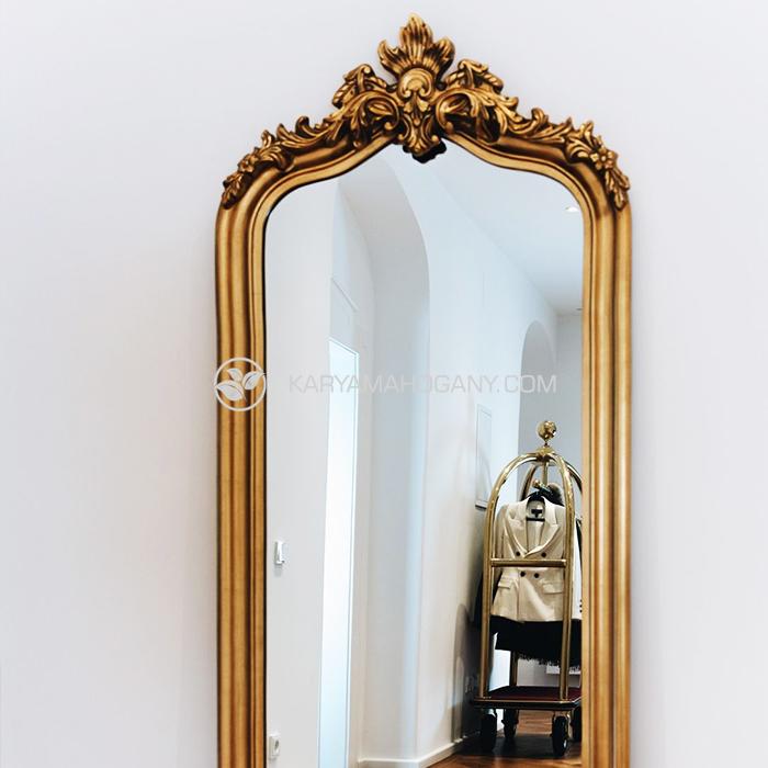 Pigura Ukir Berdiri Mewah Jepara | Jual Cermin