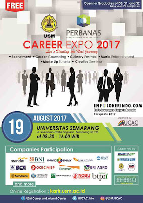 Open to Graduates Of D3, S1, and S2 USM Career Expo 2017