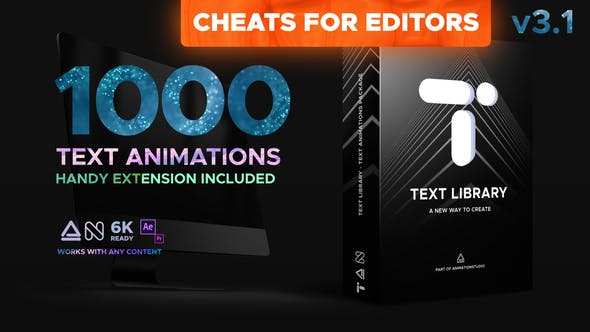 Text Library - Handy Text Animations[Videohive][AE][PP][21932974]