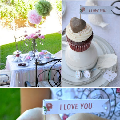 Last Minute Valentine's Day Tea Party Ideas