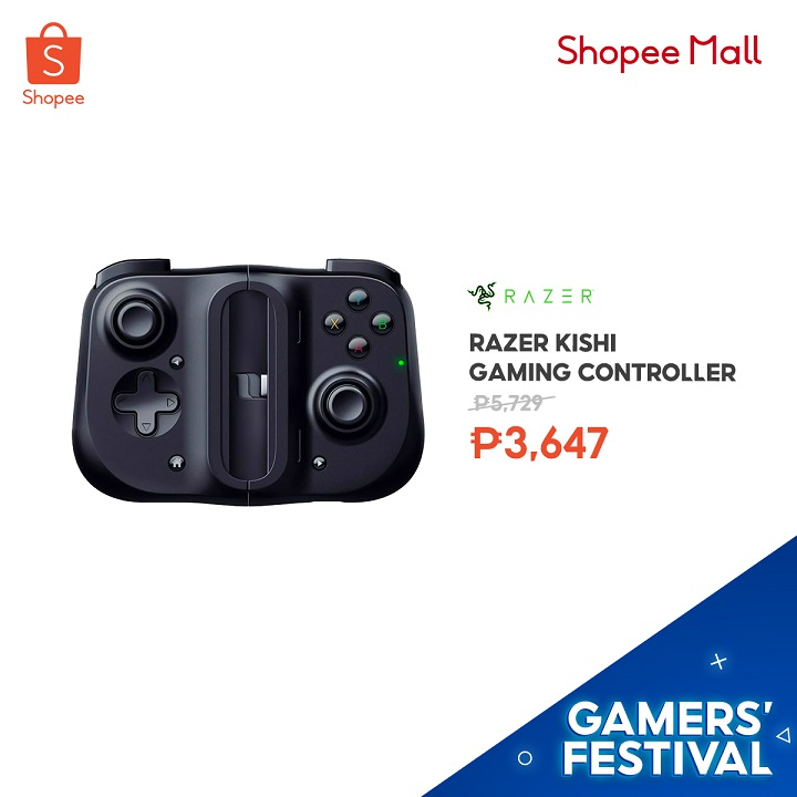 Razer Kishi Gaming Controller for Android devices