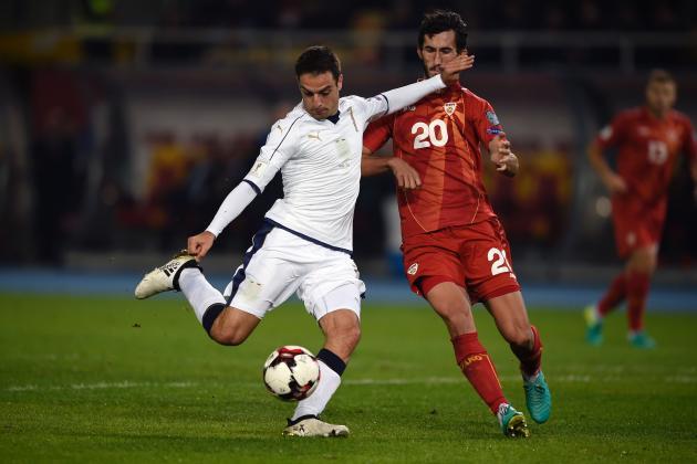 Italia vs Macedonia EN VIVO por la Clasificatorias