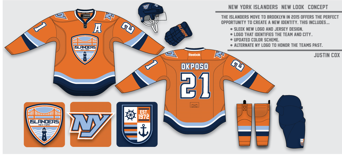 I think the Isles  move to Brooklyn in 2015 would be the perfect chance to  update their identity. I created a more modern 7a23f9fd8