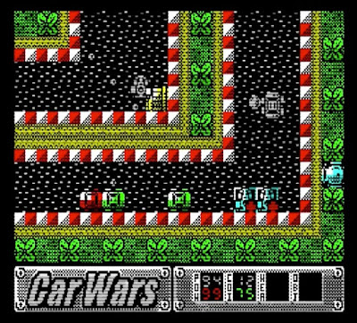 Car Wars. ZX Spectrum