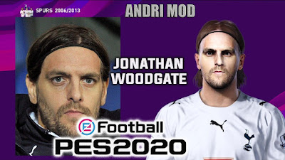 PES 2020 Faces Jonathan Woodgate by Andri Mod