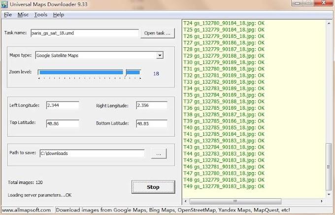 AllMapSoft Universal Maps Downloader 10,037