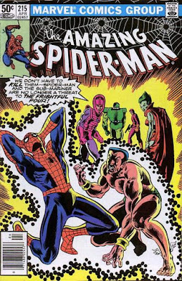 Amazing Spider-Man #215, Llyra and the Sub-Mariner