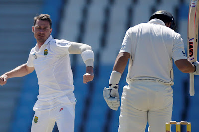 Fast Bowler Dale Steyn 5 Wickets for 33 Paved Way for Win Over New Zealand in The Final Test