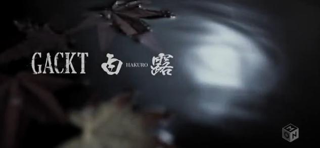 gackt hakuro single