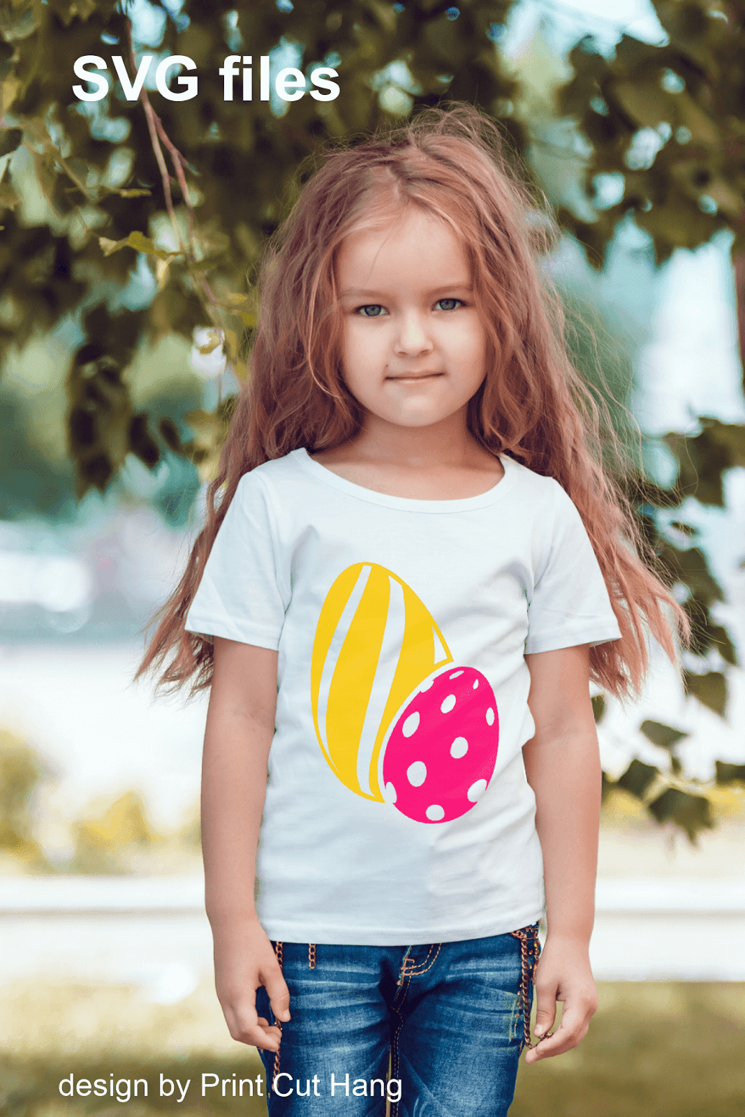 EASTER EGGS STRIPES AND DOTS SVG
