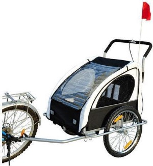 Homcom fietskar en hardloopbuggy combi