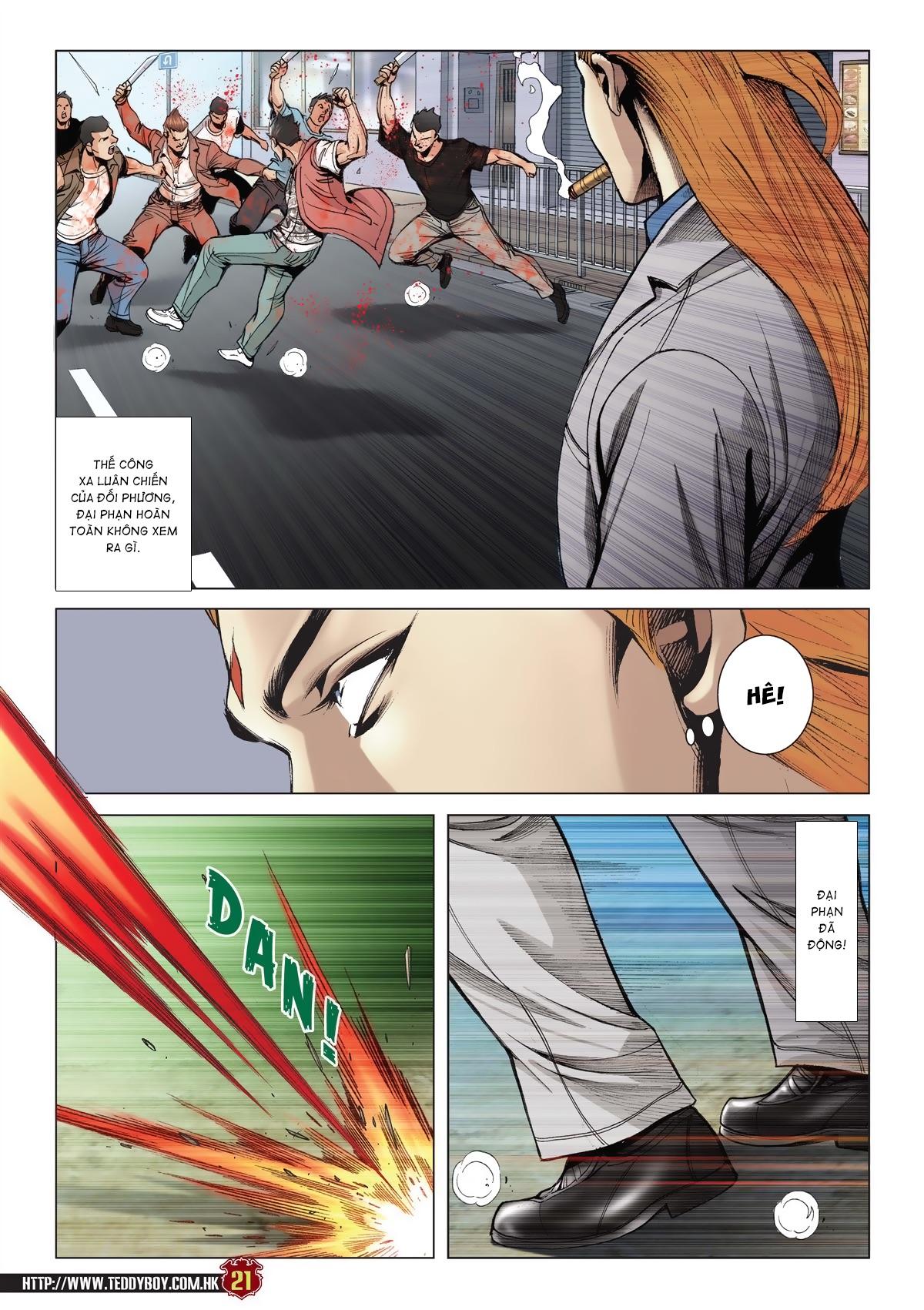 Người Trong Giang Hồ chapter 2015: tọa sơn hổ vs đại phạn trang 18
