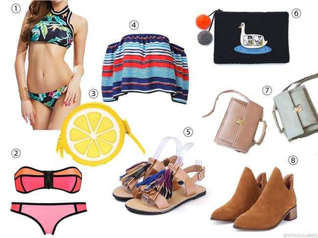 ほしい物リスト ファッション 2016年夏