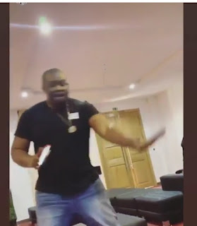 Don Jazzy Shows His Dance Moves, Fan Asks Him To Go And Marry 7
