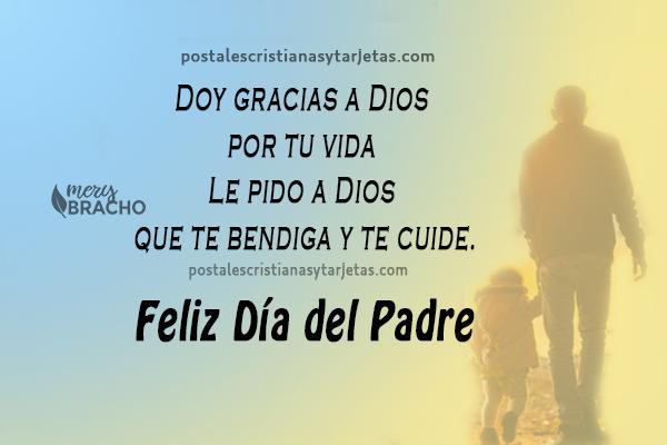 imagenes cristianas con frases de feliz dia del padre, mensajes  cristianas papa, padres, abuelos, mi papa.