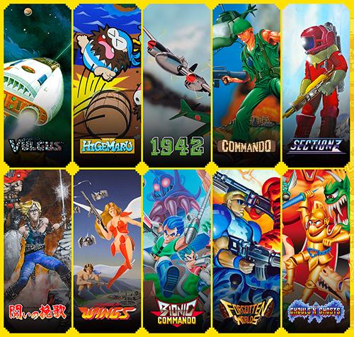Capcom Arcade Stadium - Dawn Of Arcade