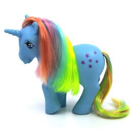 MLP Stella Year Three Int. Rainbow Ponies II G1 Pony