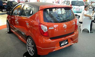 Harga Mobil Toyota Agya Bulan April 2015
