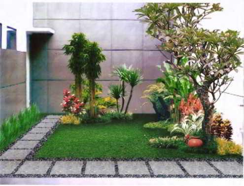 Desain Taman Minimalis Didalam Rumah
