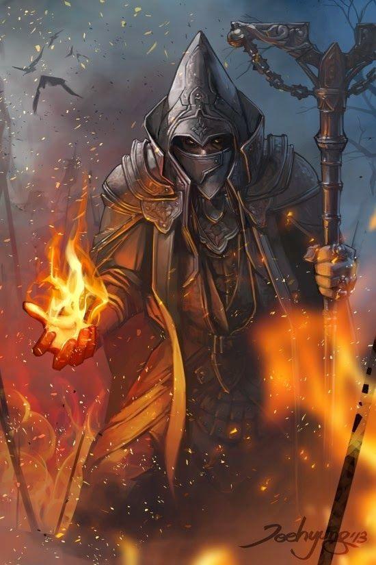 Implied Volatility - Fire wizard