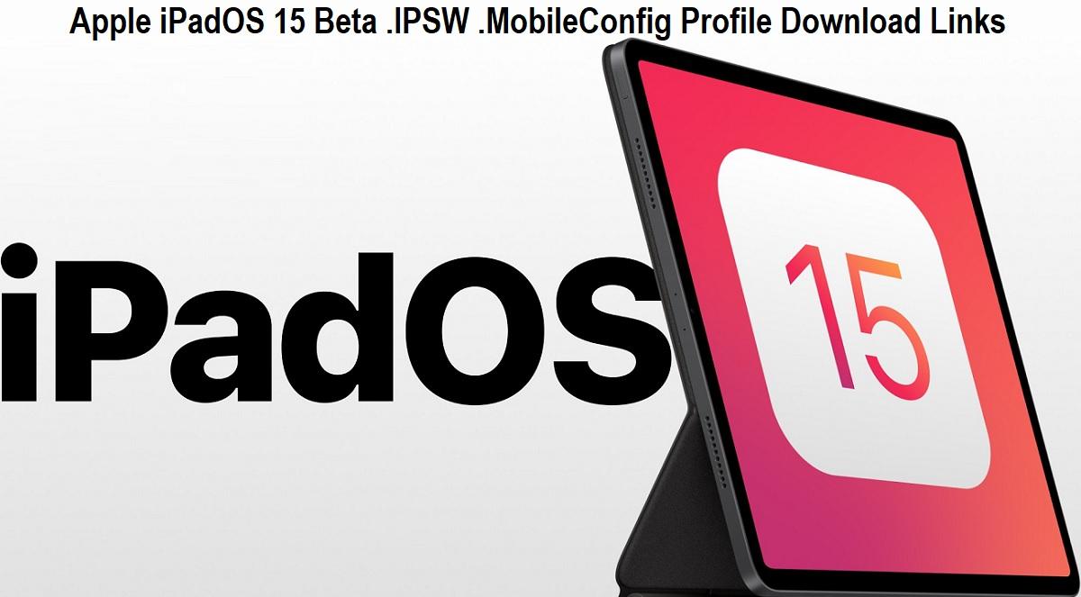 Download iPadOS 15.1 Beta IPSW