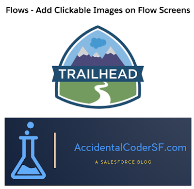Display Clickable Images on Flow Screen