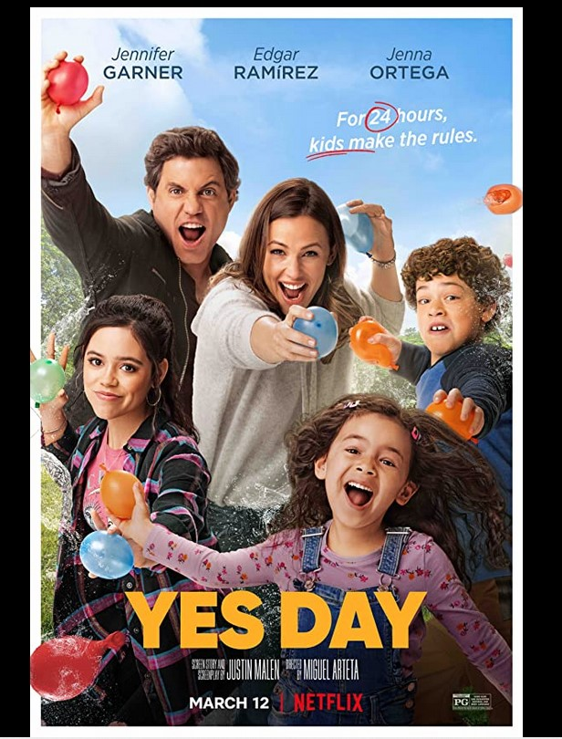 Yes Day 2021 x264 720p WebHD Esub Dual Audio English Hindi THE GOPI SAHI