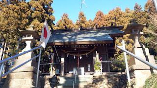 町田市の飯守神社 社殿
