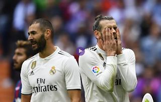 ريال مدريد الجريح يواصل النزيف بعد الهزيمة من ليفانتى