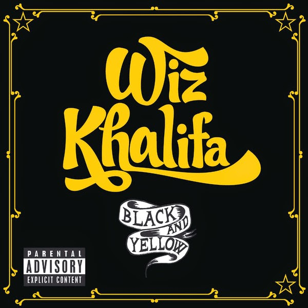 Wiz Khalifa - Black and Yellow - Single Cover