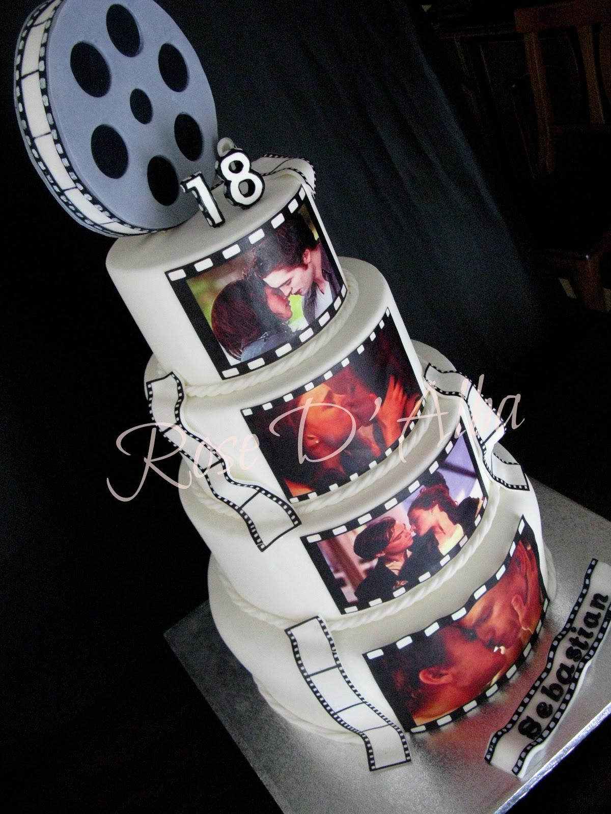 Ben noto ROSE D' ALBA cake designer: I 18 anni di Sebastian, una torta da  BJ68
