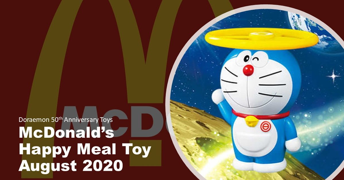 Mcdonald S Happy Meal Toy August 2020 Doraemon 50th Anniversary The Wacky Duo Singapore Family Lifestyle Travel Website