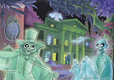 IDW Publishing Disney Haunted Mansion Original Graphic Novel