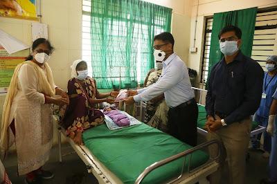 बाभुळगाव ग्रामीण रूग्णालयाची जिल्हाधिकाऱ्यांनी केली पाहणी