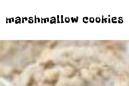 marshmallow cookies